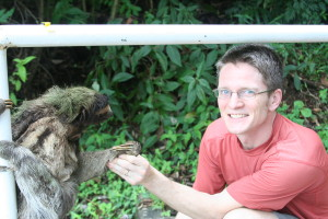 Roland with Sloth