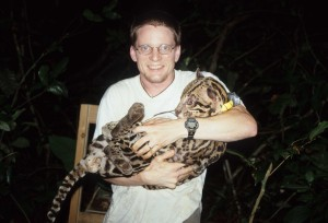 Our first ocelot