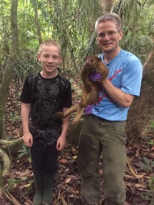 Catching kinkajous on Barro Colorado Island